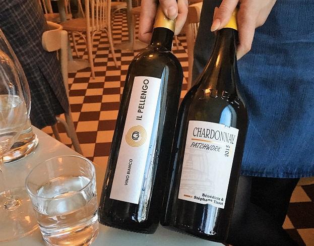 Valkoviinit riesling chardonnay ravintola Werner