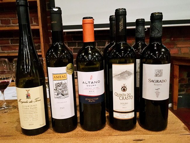 St wine and friends viinitasting Portugalin viinit
