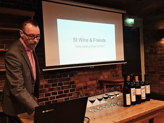St wine and friends viinitasting Portugalin viinit Jarkko Juntunen