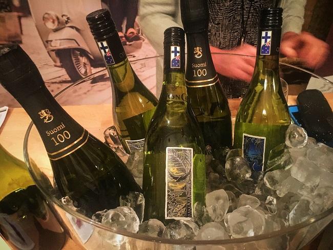 Syötävän hyvää Suomesta Vicarage Lane viinitila Suomi 100 viinit