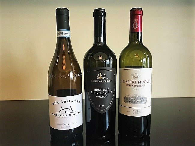 Italialaiset punaviinit tasting viiniristeily Viking Line St wine and friends viinikerho