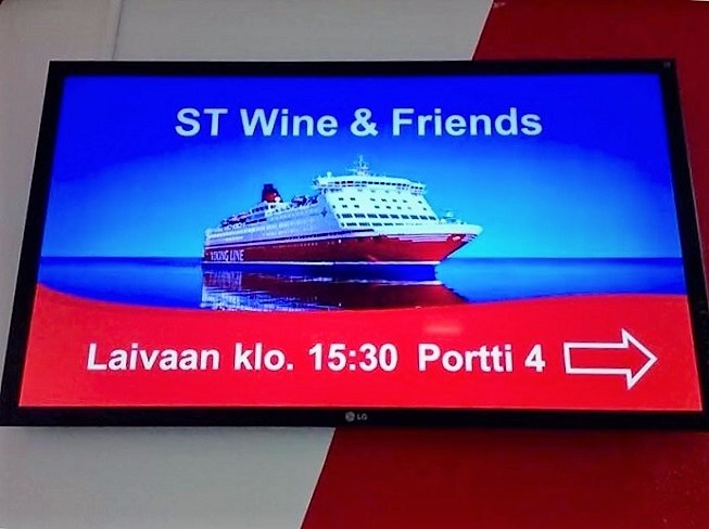 St wine and friends viiniristeily Viking Line