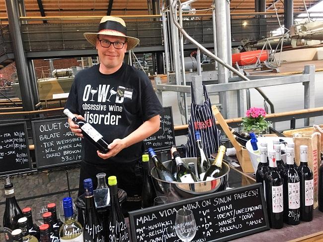 Turku Food and Wine Festival BB wines Peetu