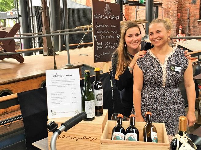 Turku Food and Wine Festival Chateau Carsin viinit Nea Berglund Pia