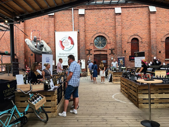 Turku Food and Wine Festival Forum Marinum