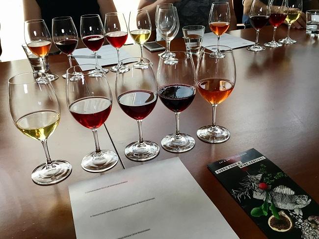 Turku Food and Wine Festival natural viinien tasting