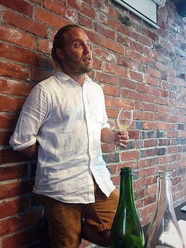 Turku Food and Wine Festival viinintekijä Samuli Pasanen