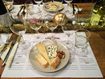 Herkutellaan juustoilla ja viinillä