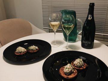 Viinileidien lasissa nyt…Barth Riesling Brut kuohuviini