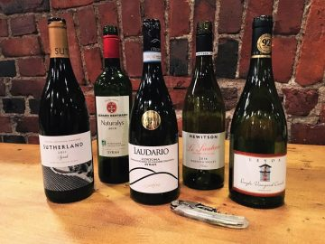 Viinikerhon tastingissä nyt…Syrah around the world