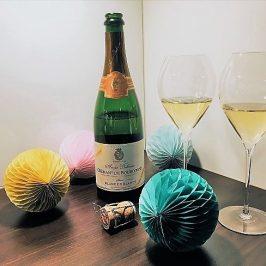 Viinileidien lasissa nyt… André Delormen blanc de blancs -kuohuviini