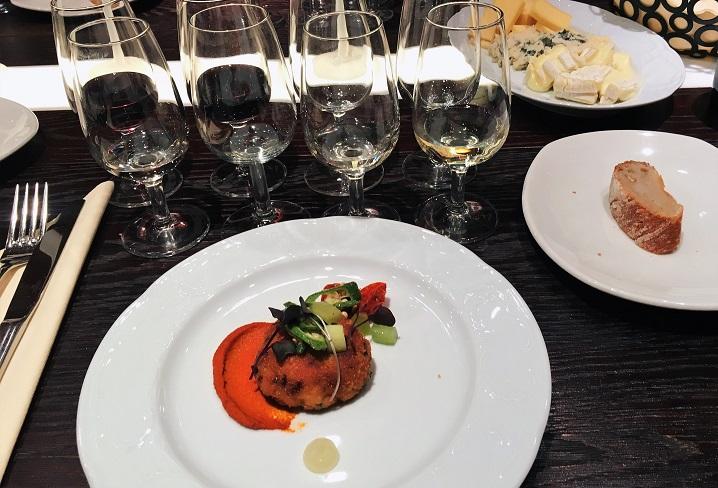 St Wine and Friends viinitasting Muru Wines tarjoilut