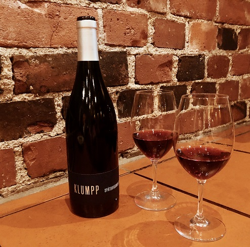 Viinileidien lasissa nyt Klumpp Spätburgunder Alko erikoiserä