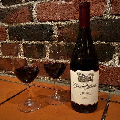 Viinileidien lasissa nyt Chateau Ste Michelle Syrah